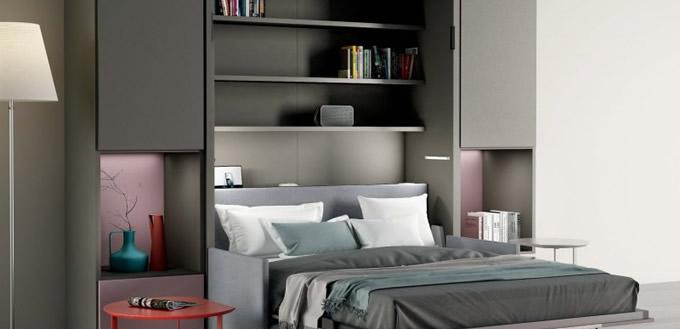 Catalogo arredamenti camere da letto e cucine toncini for Letti sospesi a parete